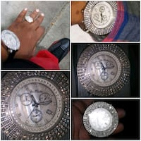 Iced out watch  Real Diamonds  Louisville, 40214