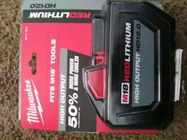 Milwaukee m18 High Output 12.0 battery