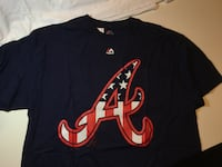 Atlanta Braves Stars + Stripes Flag Shirt Little Rock