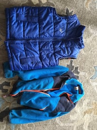 Boys fleece and vest
