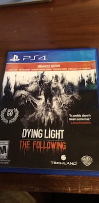 (PS4)Dying Light The Following*** Anderson, 29621