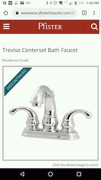 Faucet new in sealed box Toronto, M6M 5E2