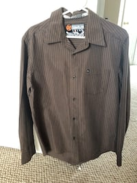 Men's Quick Silver long sleeve dress shirt Oshawa, L1K 0G7