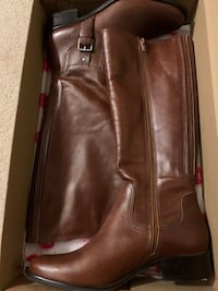 Tall Leather Boots - Brand New Woodbridge