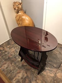 Cherry wood accent table MOVING SALE Toronto, M3A