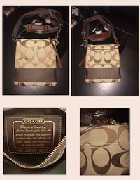 Authentic Coach Cross Body•Classic Monogram and Perfect Condition   London, N6A 1J1
