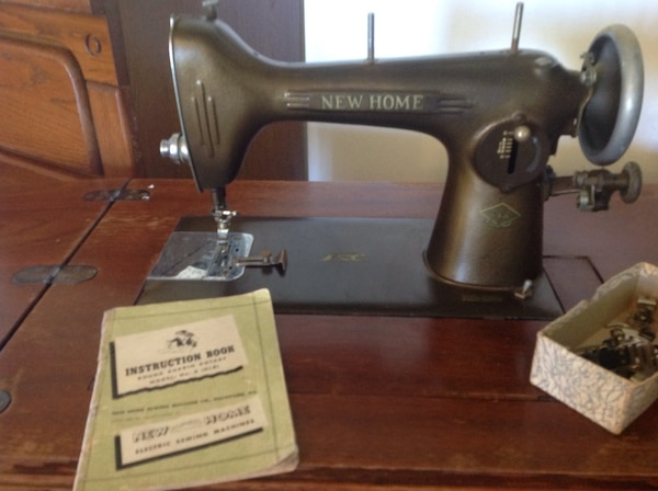 Used Antique New Home Treadle Sewing Machine For Sale In Carlsbad Stunning New Home Sewing Machine Antique