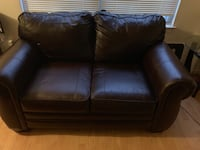 Brown leather sofa/loveseat Temple Hills, 20748