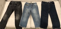 Kids/toddler boy blue and black denim jeans Laval, H7G