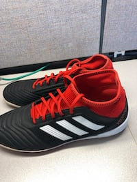 black and red adidas low top sneaker Annandale