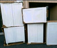 BRAND NEW WHITE CABINETS (7 TOTAL ) Bel Air, 21014