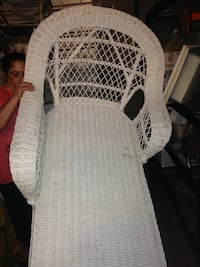 Antique, beautiful, extremely sturdy, large, chaise lounge chair.