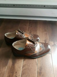 Boys leather shoes size 2 Laval