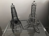 Eiffel Tower candle holder and Eiffel Tower bling Surrey, V3X 0C3