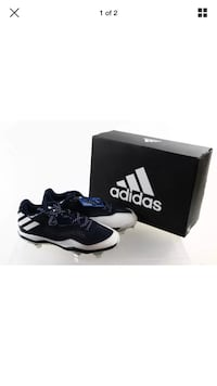black and white adidas low-top sneaker with box Toronto, M3C 3L7