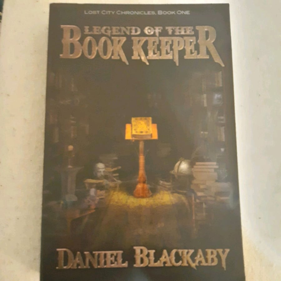 BOOK: Legend of the Bookkeeper
