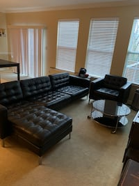 IKEA Leather Couch Set (Close to CCBC) 69 km