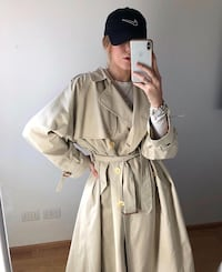 Vintage Burberry trench coat Oslo, 0767