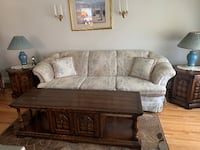 Couch with Coffee Table and End Tables Vaughan