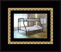 Full twin bunkbed frame Greater Landover, 20784