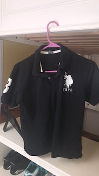 black and white Ralph Lauren polo shirt Gainesville, 20155