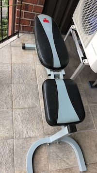 black and white leather bench press 797 km