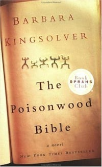 "Book ""The Poisonwood Bible"" by Barbara Kingsolver from Oprah's Book Club Henderson"