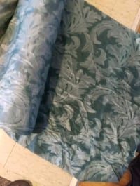 white and blue floral fabric sofa Georgina, L4P 3T1
