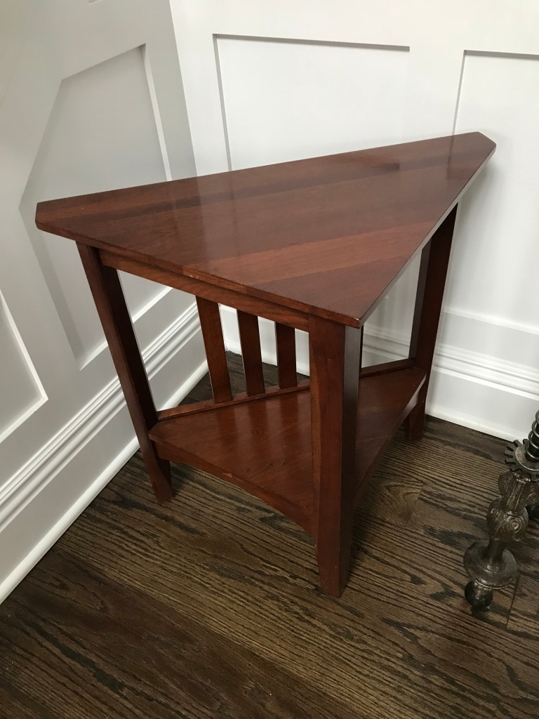 used ethan allen side table 24 x14 x 23 height for sale in woodcliff rh gb letgo com