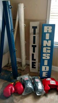 Boxing Ring and Equipment Macon