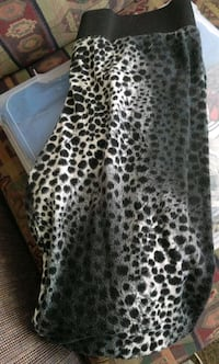black and brown leopard print long sleeve dress Saint Catharines