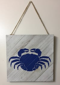 Rustic Wooden hanging sign 12x12