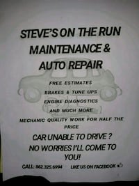 Auto repair Parsippany-Troy Hills, 07054
