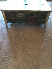 Rustic coffee table. Used less than 1 year Elkhorn, 68022