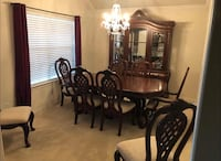 Dining Room set, seats 8 Cypress, 77433