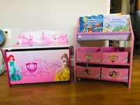 Disney Princess Toy Chest and Book Shelf Silver Spring, 20906