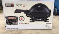 NEW Weber Q1200 1-Burner Portable Tabletop Propane Gas Grill in Black with Built in Thermometer Springfield, 22151