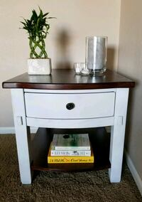 Refinished Broyhill accent table