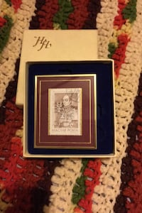 Framed stamp Paracelsus with acrylic plastic stand Kansas City, 64126