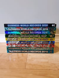 Guinness Book of World Records 2010-2020