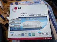 LG 16 X internal multi DVD/ CD Rewriter