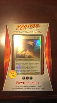 Magic The Gathering Commander trading card game package
