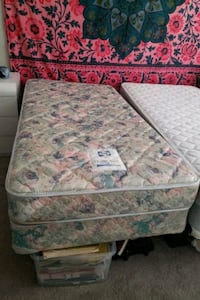 Two twin mattresses including 1 mattress pad  Ashburn, 20147