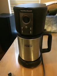 Hamilton Beach Stay or Go Thermal Coffee Maker Vancouver, V5M 4A3