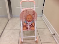 Dressed up doll with stroller both in excellent conditions Hamilton, L8W