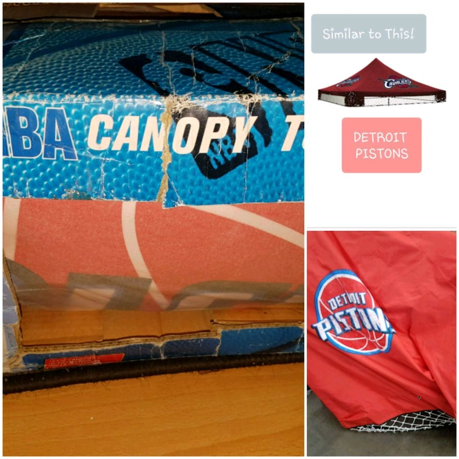 NBA 10 x 10 Canopy Replacement Top for Gazebo ☆New☆