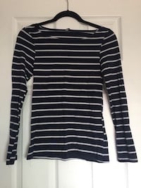 Blue/White Striped Long Sleeve Shirt (size L) Oxnard, 93033