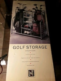 Golf Storage Organizer