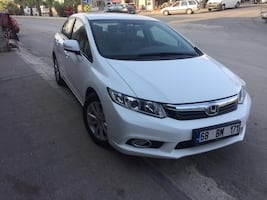 2013 Honda Civic 1.6 ES DREAM DÜZ LPG HAZIRLIKLI