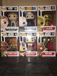 Star Wars funko pop !  Winnipeg, R3E 3G1